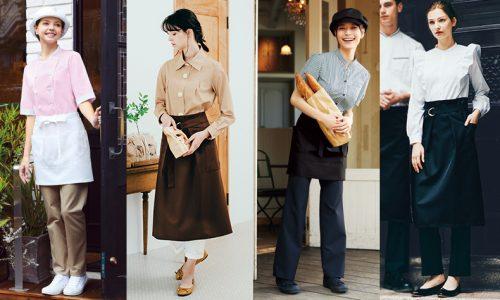 洋菓子店やカフェのコーディネート
